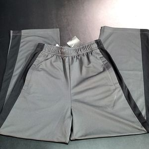 Grey And Black Nike Sweat Pants